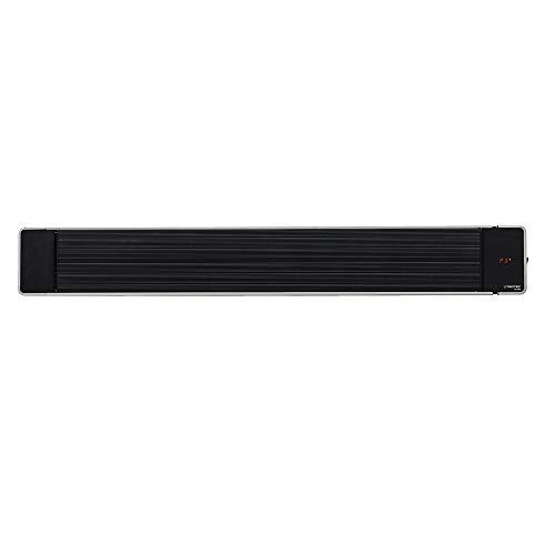 TROTEC 1410003330 Calefactor por radiación de luz negra IRD 2400 | Radiador Infrarrojo | Para exteriores | Radiadores de terraza| 2.400 W | IP55 clase de protección