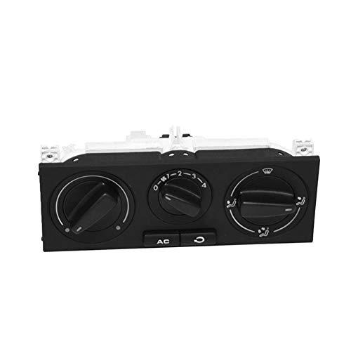 VXAOHONG Interruttore AC Condizionatore d'Aria Climatizzatore Pannello di Misura for Il VW Passat B5 Bora Golf 4 MK4 1998-2004 1J0820045F (Color : Black)