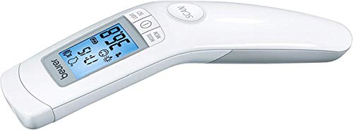 Beurer FT90 - Termometro Clinico Digital sin Contacto con la Piel, color Blanco