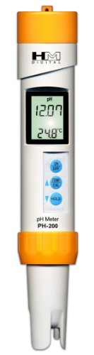 HMD ph-200 Digital Professional Waterdicht 0 – 14 pH & temperatuur meter