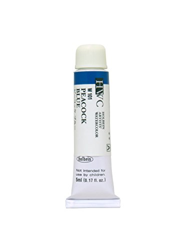 Holbein Artists' Watercolors - Peacock Blue - 5ml Tube