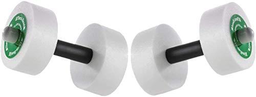 "Thera-Band Aquatic Exercise Dumbells/Hand Bars - One Pair - Medium - Disc Size 12"" x 2.5"""