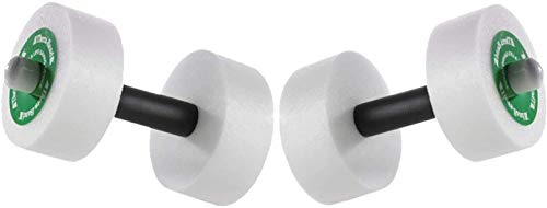 Thera-Band Aquatic Exercise Dumbells/Hand Bars - One Pair - Medium - Disc Size 12' x 2.5'