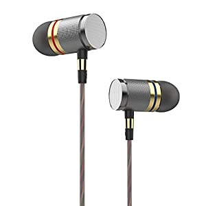 Betron YSM1000 Wired Earphones, High Definition Noise Isolating Headphones, Deep Bass, Crystal Clear Sound, Compatible with iPhone, Samsung, Sony, MP3 Players, Laptops, Computers, Tablets