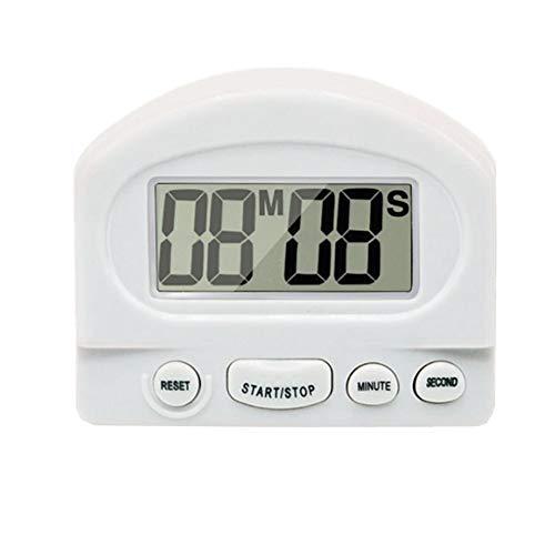 xiamenchangketongmaoyi Timer Reloj Cocina Temporizador Temporizadores de Cocina Reloj Temporizador Temporizador Digital Temporizadores White,One Size