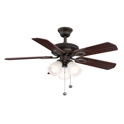 Hampton Bay AM212-ORB Glendale 42 in. Indoor Bronze Ceiling...
