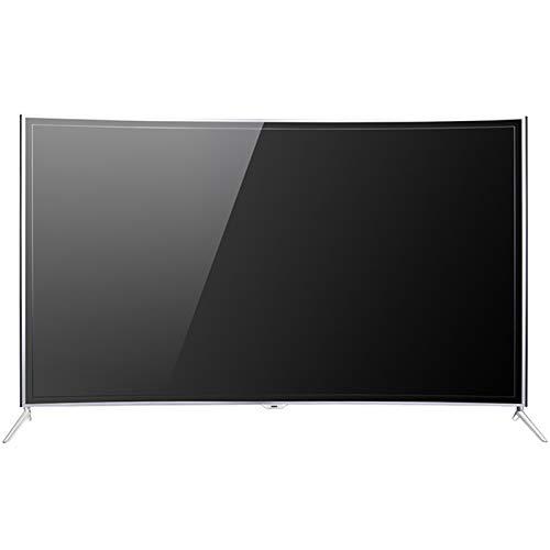XFF Smart TV 4K UHD HDR (46,55,60,65,75'), Televisión WiFi Pantalla Curva LCD Ángulo Visión Completo, Multipantalla Interactiva, Decodificación USB HD, Diseño Marco Ultra Estrecho Aleación Aluminio