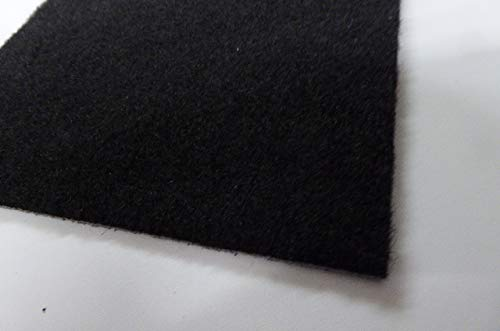 autix Dartmatte Teppich schwarz 237 x 50 cm stabil ca. 2KG günstige Einsteigermatte