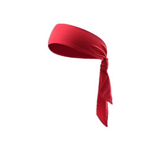 Cinta de Pelo Deportiva Cintas Pelo Las Diademas Bandas para el Pelo para Hombres Sudor Bandas de Hombres Diademas Sweatband Hombre Banda de Pelo Red,1