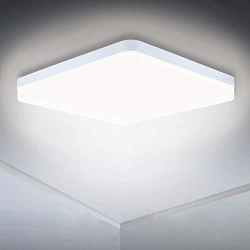 LED Deckenlampe, 36W 3240LM LED Panel Licht Schnellmontage Weiß Downlight 4000K Deckenleuchten für Schlafzimmer Wohnzimmer Küche Flur Balkon [Energieklasse A+]