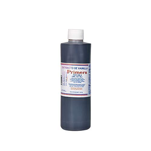 Vanille-Aroma (Backzutat), dunkel, Plastikflasche 450ml - Extracto de Vainilla Negra PRIMERA, 450ml