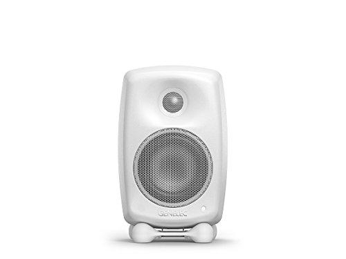 Genelec G Two Aktiv Lautsprecher Active Monitor Speakers, Weiss (Paar)