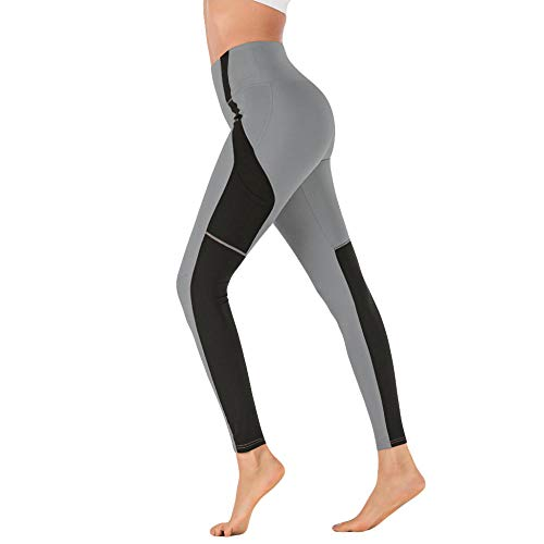 Harem hippiebroek voor dames,Yoga fitness legging, strakke legging-grijs_Medium_Verenigde Staten,Shirts Sport Running Gym Outdoor
