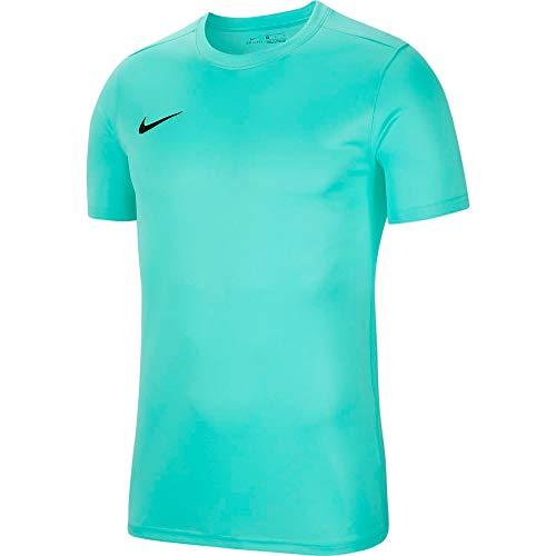 NIKE M Nk Dry Park VII JSY SS Camiseta de Manga Corta, Hombre, Azul (Hyper Turq/Black)
