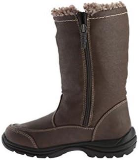 totes Women's Celina Waterproof Snow Boot,Brown,US 9 M