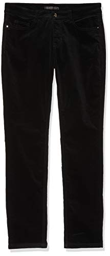 MAC Jeans Damen Slim Jeans Angela_5240, Schwarz (Black 90), W40/L32