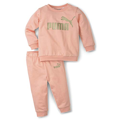 PUMA Baby Jogginganzug Minicats ESS Crew Jogger 588176 Apricot Blush 104