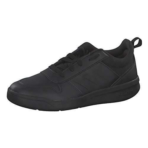 adidas Unisex Tensaur Road Running Shoe, Core Black/Core Black/Grey, 5 UK