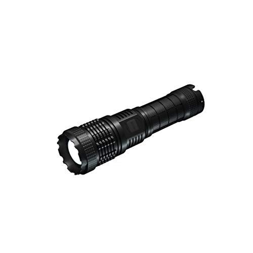 ZRJ Linternas Linterna Alta de Lúmenes LED Powered by Lithium Battery Cargable para Acampar Linternas de Emergencia Al Aire Libre Herramientas (Color : A)