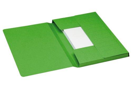 A4, 25 unidades Jalema Atlanta 2655024500 Series E Carpeta colgante color verde