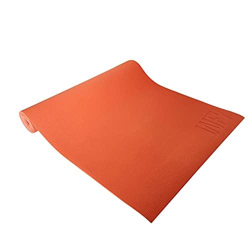 #DoYourYoga - Fitnessmatte Yogamatte »Kirana« aus ECO-PVC - 183 x 61 x 0,4 cm - rutschfest & robust - Gymnastikmatte ideal für Yoga, Pilates, Workout, Outdoor, Gym & Home - Kürbis
