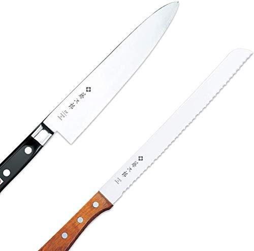 Tojiro 2-piece Knife Set - Includes Tojiro DP Gyutou - 8.2' (210mm) and Tojiro Bread Slicer 9.25' (235mm)