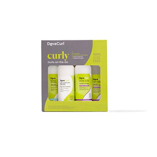 DevaCurl Curls-on-the-Go Kit, Curly