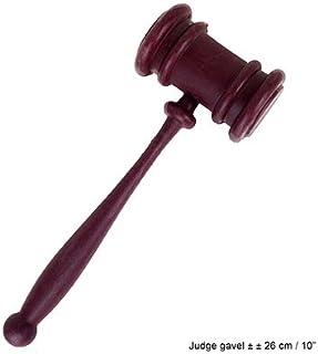 Tiberham H/ölzerner Auktionshammer mit Sound Block f/ür Richter Anwalt Student Auktion Verkauf Meetings Handarbeit Holz Richterhammer und Resonanzblock