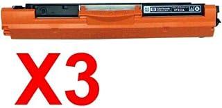 3 x Compatible HP CF350A Black Toner Cartridge 130A