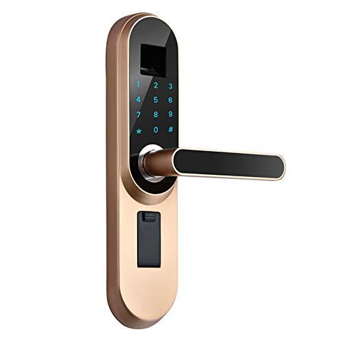 AjAC Digitale vingerafdrukken, smart lock, biometrische combinatie, touchscreen, zonder sleutels, deur, digitale afdrukken, sloten voor de veiligheid in de slaapkamer