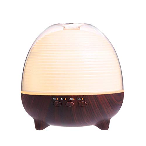 Review Wood Grain Office Home Aroma Essential Oil Diffuser Mist Humidifier Air Purifier Storage Cabi...