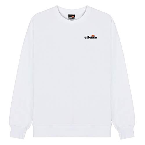 ellesse Herren Brufa Sweatshirt, weiß, XL