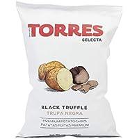 Patatas Torres - Patatas Fritas con Trufa Negra - 125 gramos
