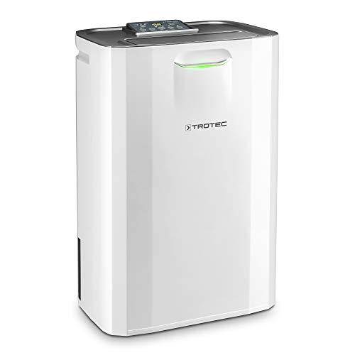 TROTEC TTR 57 E Komfort-Luftentfeuchter (9 L/Tag) - geeignet für Räume bis 20 m²/50 m³