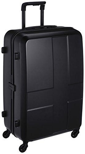 [イノベーター] スーツケース グッドサイズ 消音キャスター INV63 保証付 70L 70 cm 3.6kg ステルスブラック