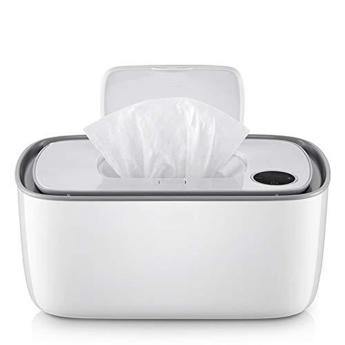 Cangfort Dispensador de toallitas húmedas para bebés, calentador de pañales con carga...