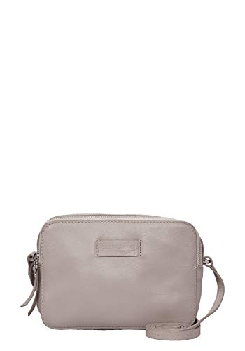 Liebeskind Berlin Damen Essential Camera Bag Small Umhängetasche, Grau (String Grey), 7x14x20 cm