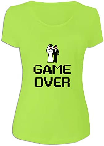 Camiseta 'Game Over' para Regalar a la Novia
