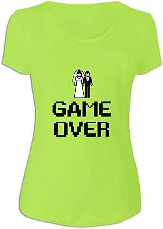 Camiseta 'Game Over' para Regalar a la Novia