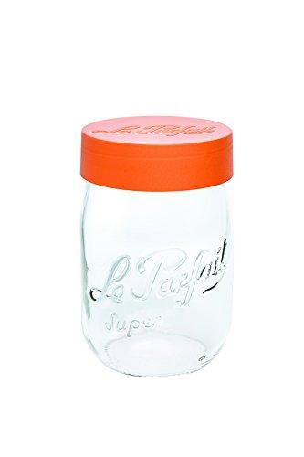 Le Parfait Einmachglas, Glas, durchsichtig, 1 L