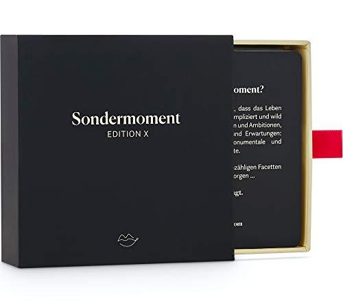 Sondermoment Edition X - Das Heisse Fragespiel für Paare | Tiefgründige Fragen und Challenges rund um Liebe, Erotik und Sex | Für Deine Freundin oder Freund
