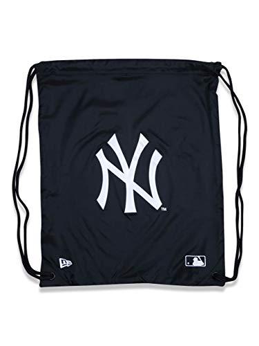 New Era Herren Herren Rucksack Mlb Gym Sack New York Yankees Rucksack, Black, OSFM, 11942038, Einheitsgröße