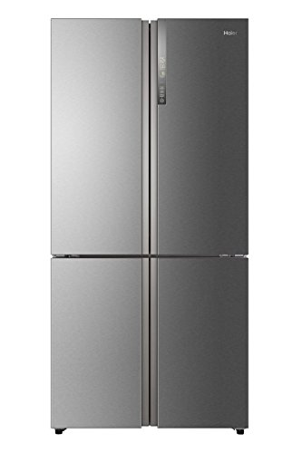 Haier HTF-610DM7 Cube Serie Kühl-Gefrier-Kombination / Multi Door / A++ / 190 cm / 343 kWh/Jahr / 430 L Kühlteil / 180 L Gefrierteil / ABT / Humidity Zone / Dry Zone / Switch Zone / Total No Frost