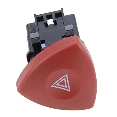 KU Syang Interruptor de Advertencia de Peligro de Emergencia para Laguna Master Trafic Espace Vel Satis/para Vivaro 8200442724 93856337