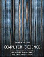 Pearson Custom Computer Science (Introduction to Java Programming)