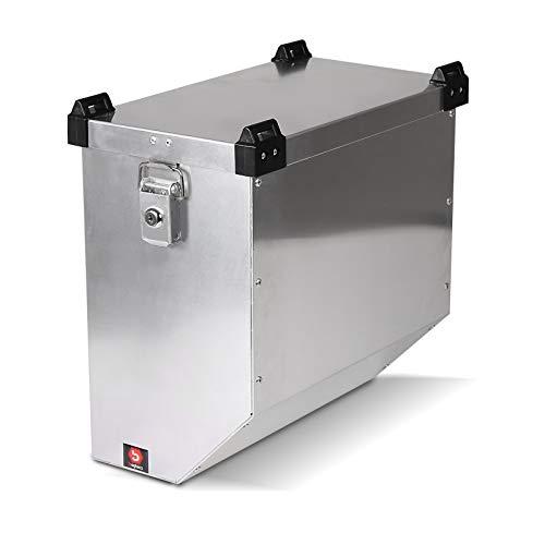 Maleta Lateral de Aluminio para Motos para Suzuki Bandit 600/650/ S Bagtecs Atlas 36l Bolsa Lateral