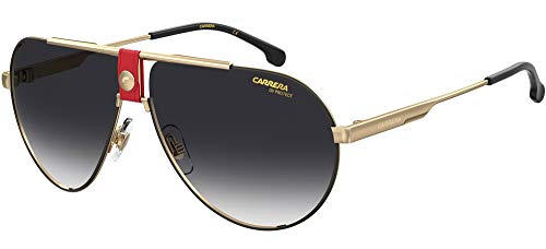 Carrera Gafas de Sol 1033/S Gold Red/Dark Grey Shaded 63/11/140 hombre