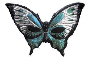 Cesar - E100859 - Loup - Papillon Métallise - Vert Anis