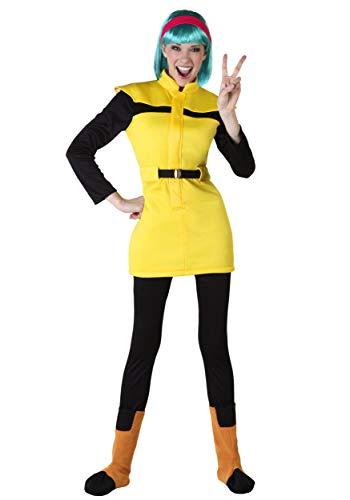 Dragon Ball Z Adult Bulma Costume X-Large Yellow