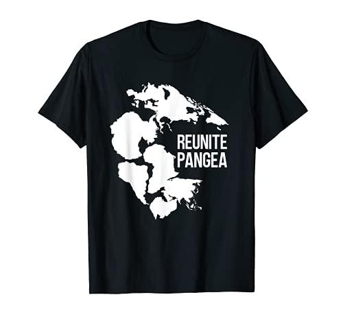 Reunite Pangea Rock Colector Geólogo Divertido Geología Camiseta